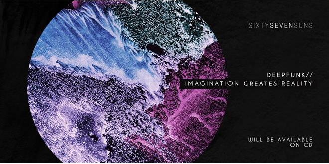 Deepfunk's Imagination Creates Reality Album Cover Shot