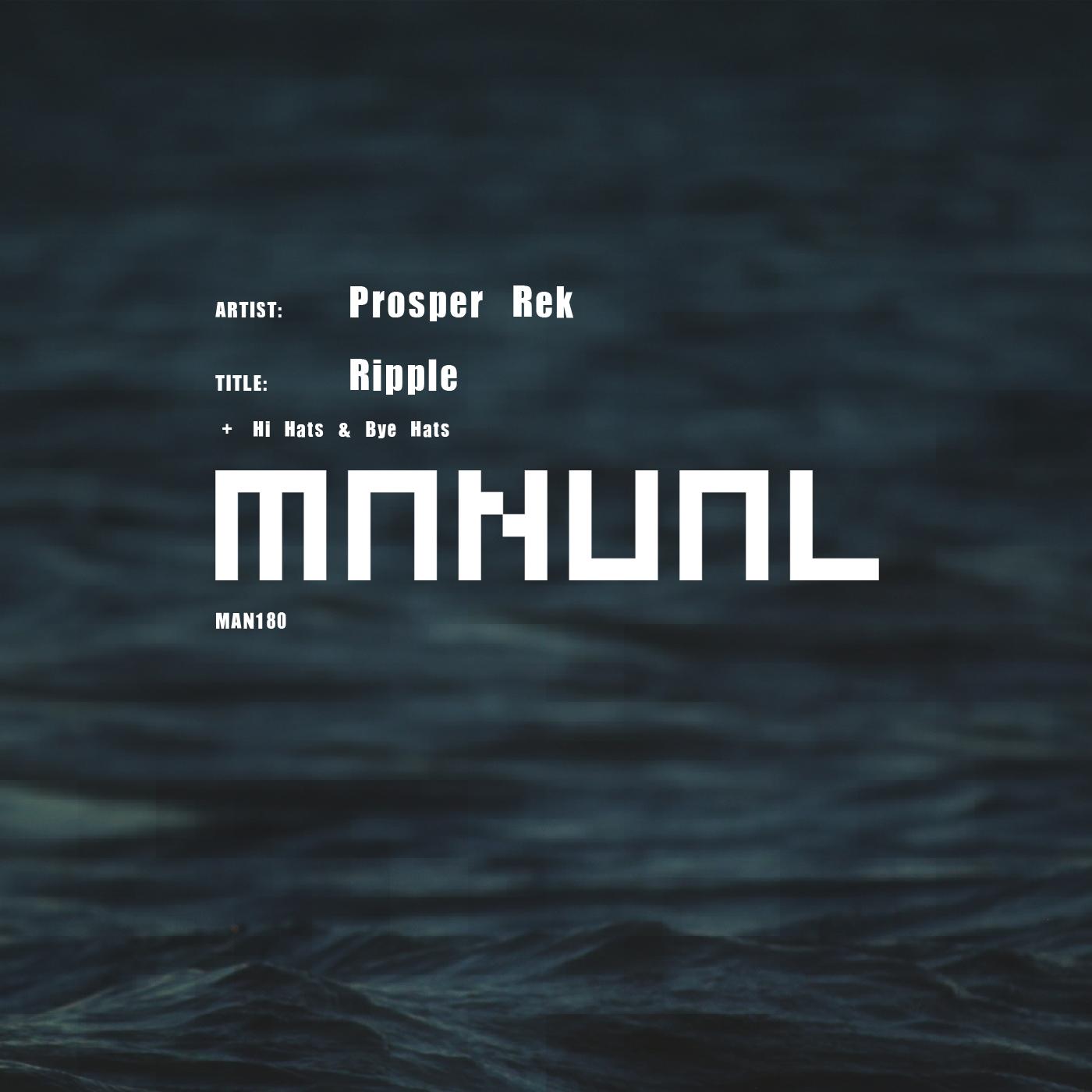 Prosper Rek - Ripple EP