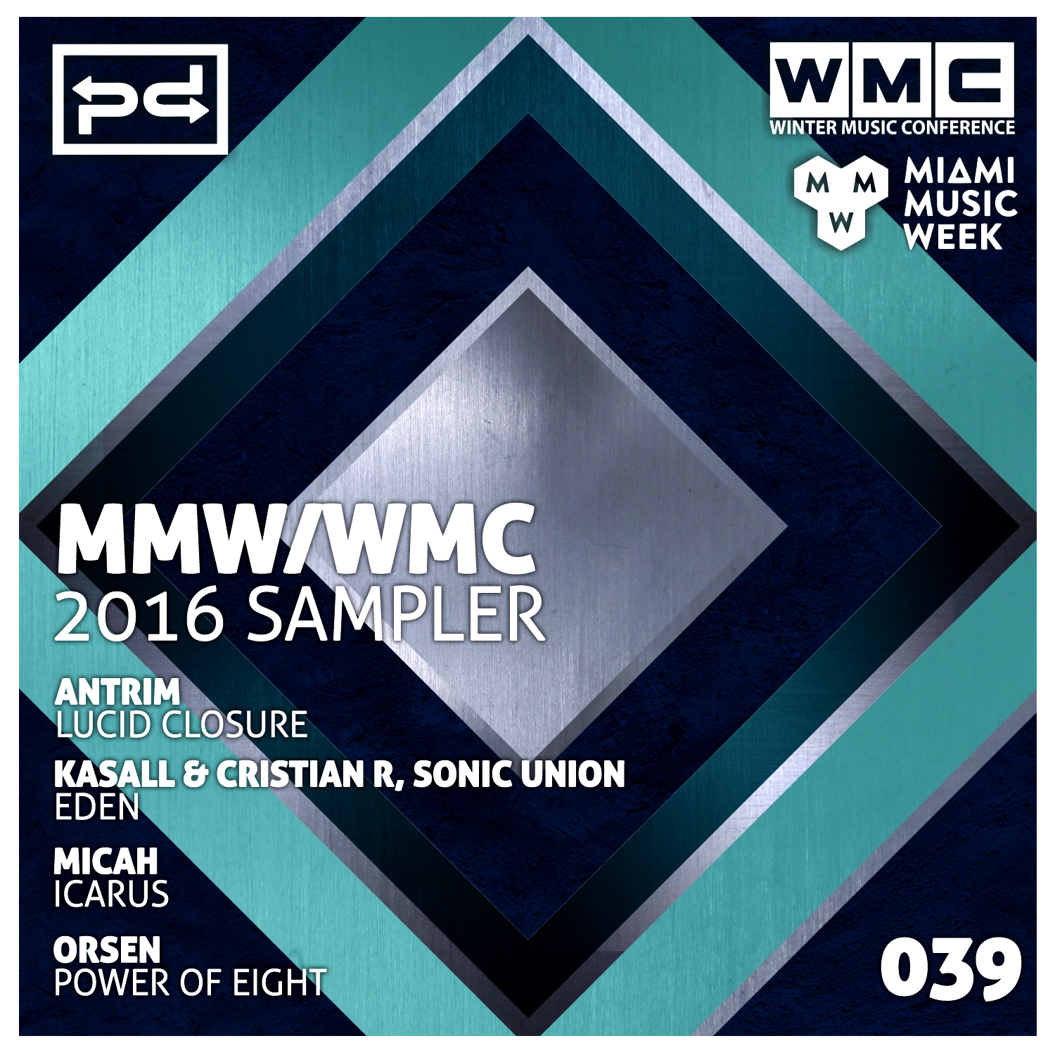 Various Artists - MMW / WMC 2016 Sampler