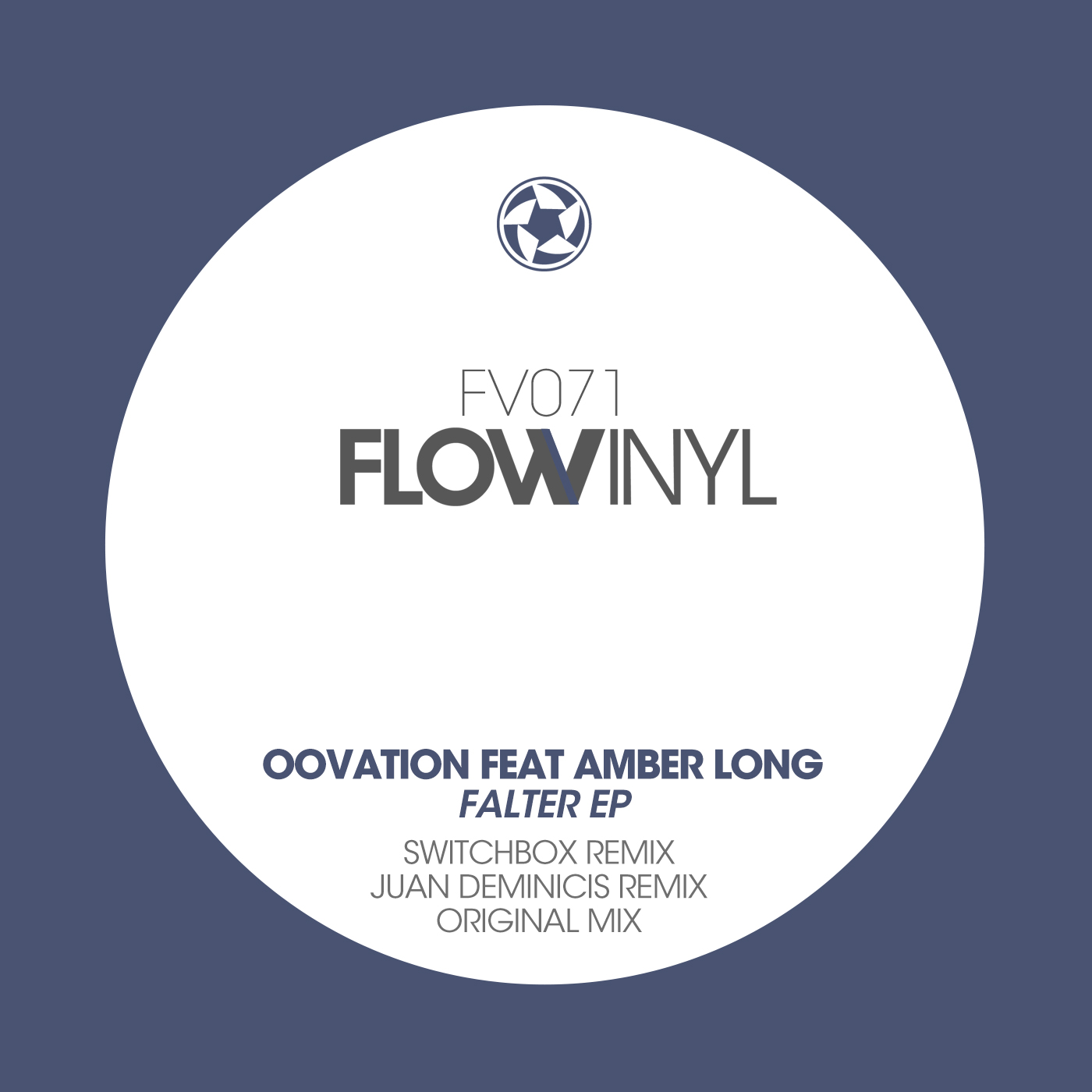Oovation feat Amber Long - Falter (Flow Vinyl)
