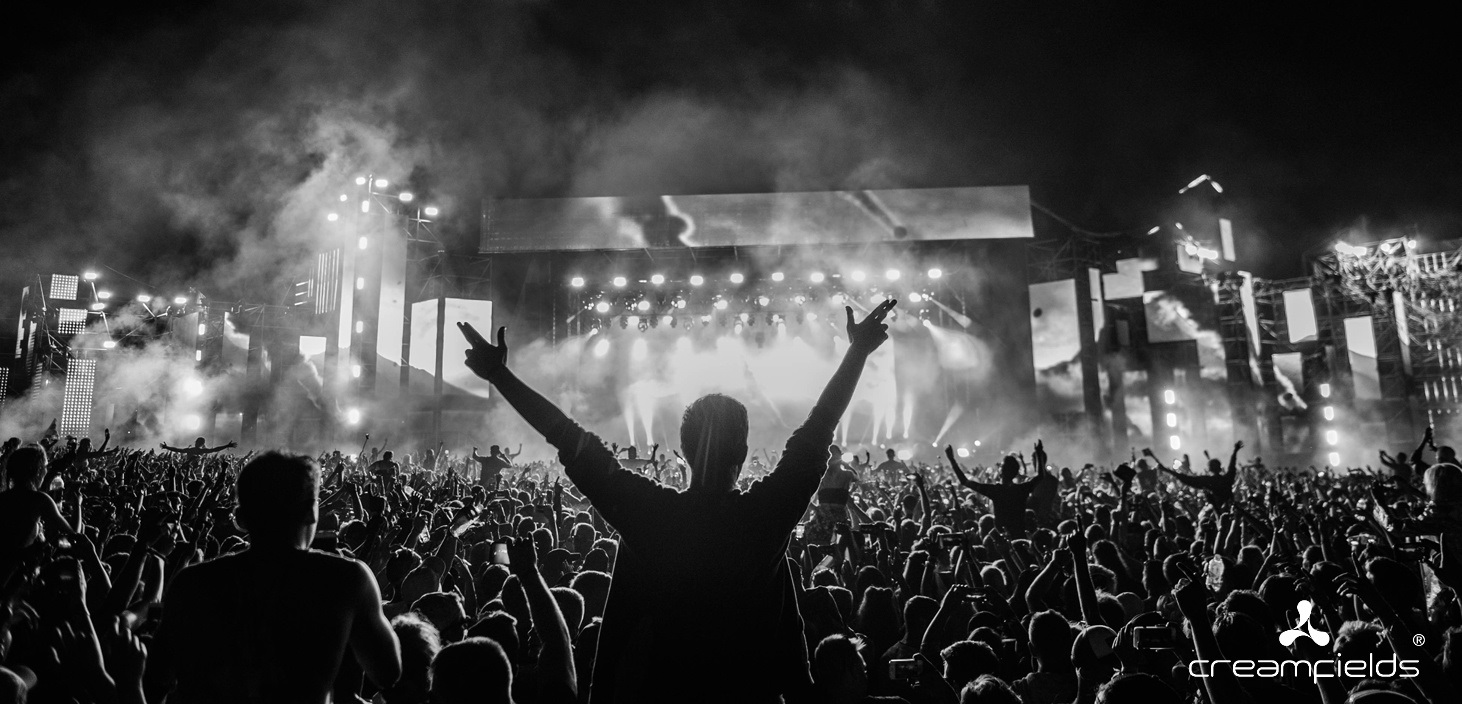 bbc music and creamfields, behind the scenes at creamfields