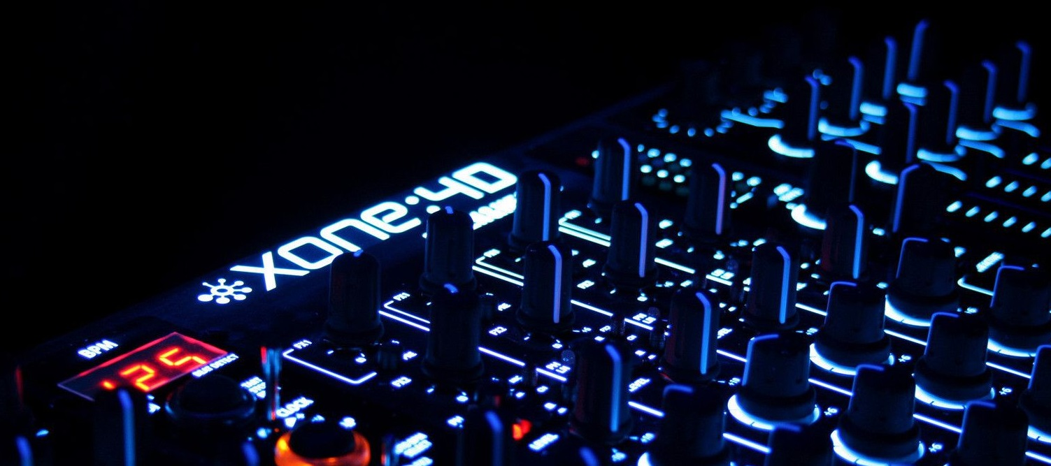 mixer mixing decks support