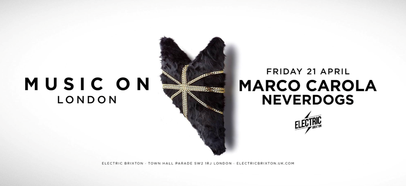 Music On London Marco Carola