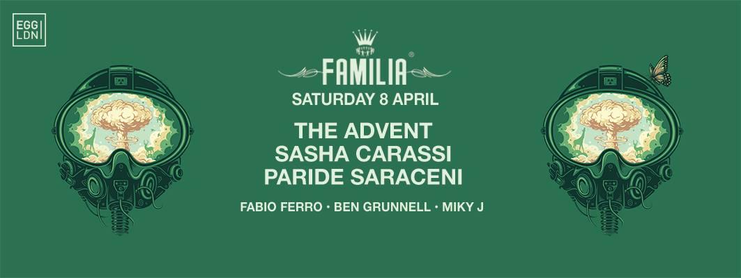 familia egg london sasha carassi the advent
